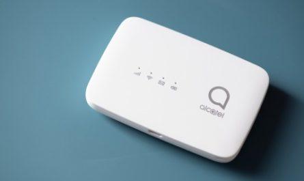 Обзор Alcatel LINZONE MW45V: роутер, который живёт в кармане