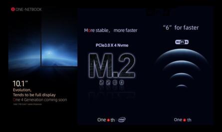 One Netbook рассказала о ключевых особенностях нового «карманного» лэптопа