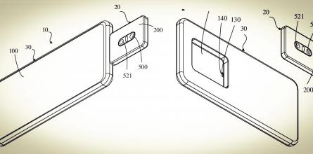 OPPO запатентовала смартфон со съёмной камерой