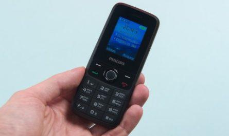 Philips Xenium E117: компактный, кнопочный, недорогой