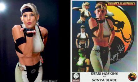 Пятидесятилетняя Соня Блейд из Mortal Kombat 3 вновь примерила боевой наряд