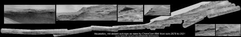 Ровер Curiosity сделал рекордную панораму Марса