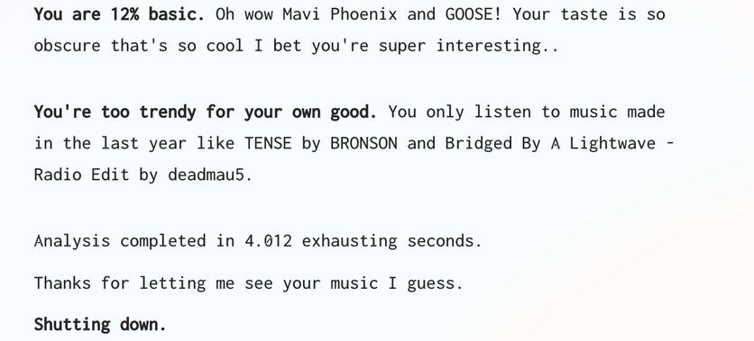 Создан бестактный ИИ для оценки музыкальных вкусов пользователей