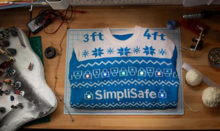 Умный свитер защитит от вирусов во время новогодних праздников