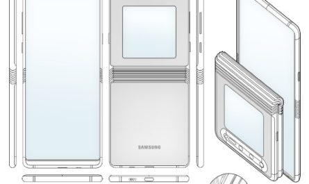 В патенте Samsung показано потенциальное изображение наследника Galaxy Z Flip