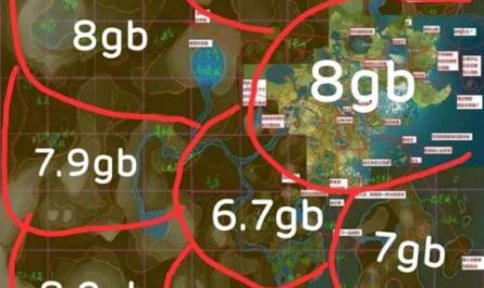 В сеть попала полная карта Genshin Impact. Фанатов мобильного гейминга ждут проблемы