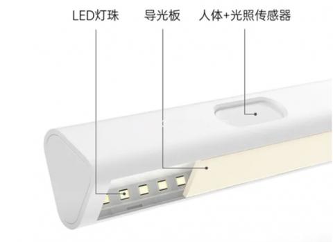 Xiaomi представила умный ночник с автономностью 8 месяцев