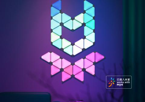 Xiaomi выпустила реагирующий на звуки модульный светильник