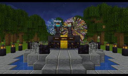 Геймеры строят Либерти-сити из GTA на хардкорном сервере Minecraft [ВИДЕО]