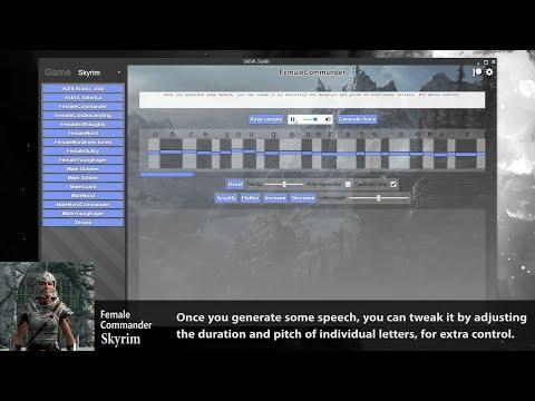 Нейросеть научили говорить голосами из Fallout и TES. Она озвучила трейлер Skyrim [ВИДЕО]