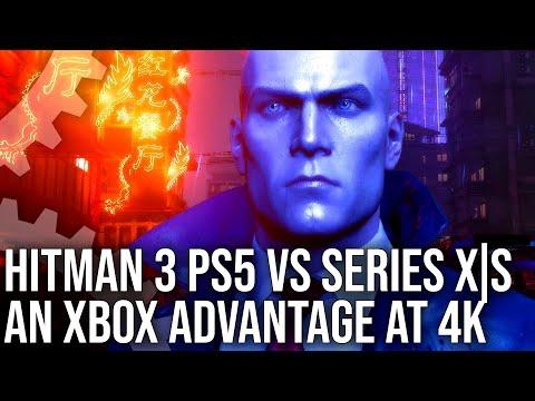 Xbox Series X обошла PS5 в тестах производительности Hitman 3 [ВИДЕО]