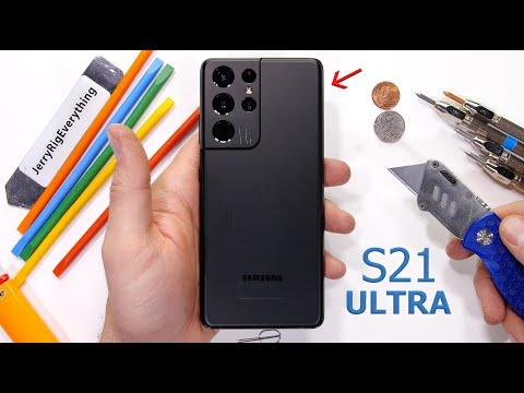 «Разрушитель смартфонов» устроил Samsung Galaxy S21 Ultra проверку на прочность [ВИДЕО]