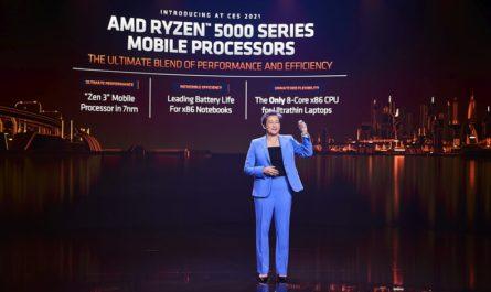 AMD показала новые процессоры Ryzen для игровых ноутбуков и десктопов