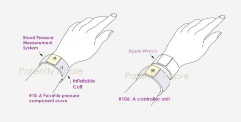 Apple запатентовала умный браслет с функцией тонометра