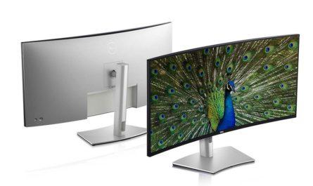 Dell представила свой первый изогнутый 5K-дисплей и монитор с выдвижной камерой