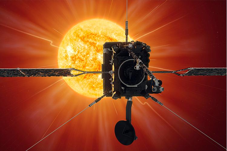 Фото дня: вид на Венеру, Землю и Марс из окрестностей Солнца