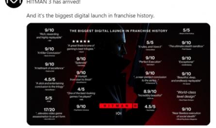 Hitman 3 поставила рекорд по продажам в истории всей франшизы