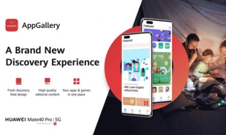 HUAWEI провела редизайн магазина приложений AppGallery