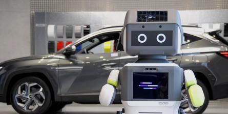 Hyundai выпустила дружелюбного робота для обслуживания людей