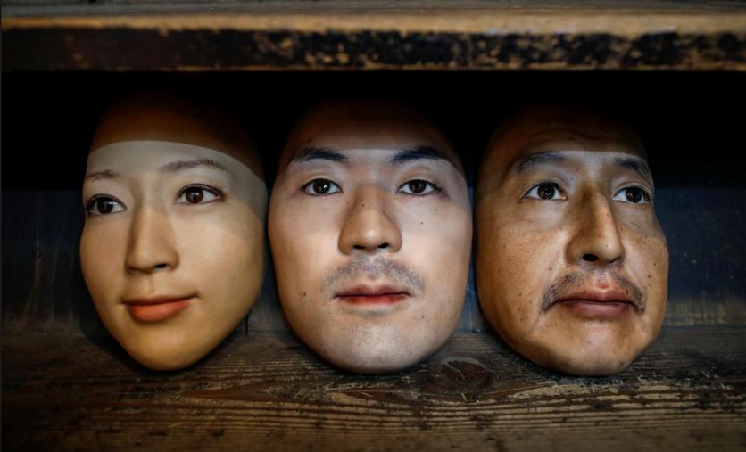 Японский магазин будет продавать сверхреалистичные маски с чужими лицами