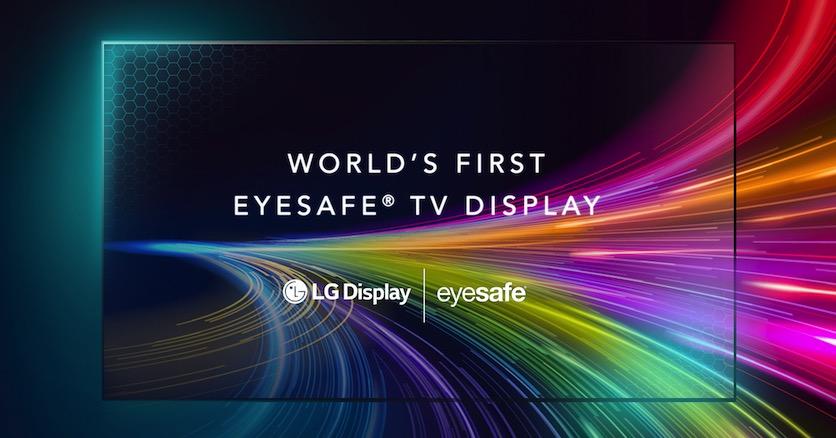 LG анонсировала первый в мире телевизор с защитой глаз Eyesafe