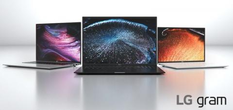 LG представила лёгкие ноутбуки Gram с новыми чипами Intel и высокой автономностью