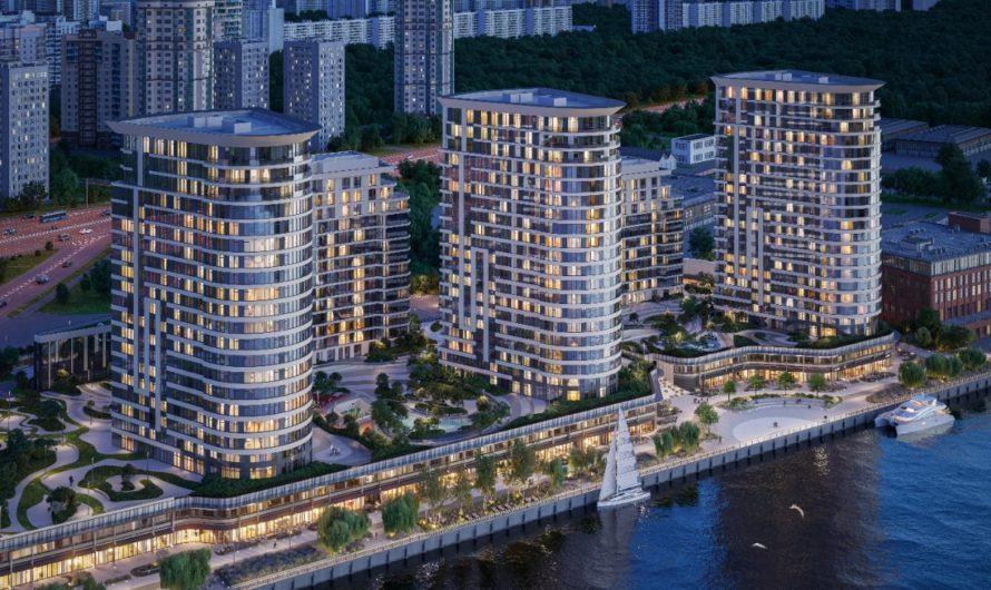 В ЖК AQUATORIA застройщик приступил к строительству последней жилой башни на 204 квартиры