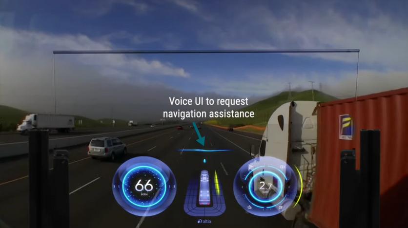 На CES 2021 показали продвинутую альтернативу приборной панели автомобиля
