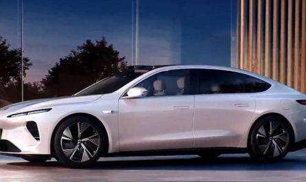 NIO показала новый электромобиль ET7 с автономностью в 1000 километров