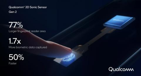 Новый подэкранный сканер Qualcomm стал в два раза быстрее предшественника