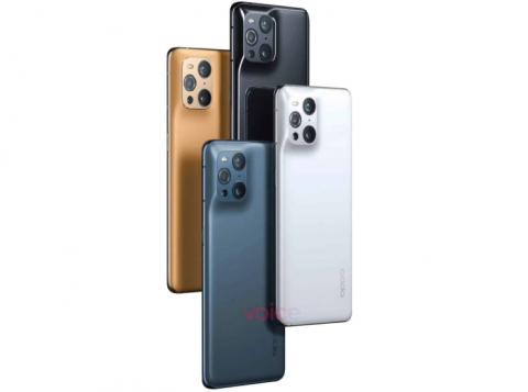 OPPO Find X3 Pro с оригинальным дизайном камеры показали «в полный рост»