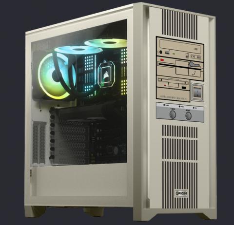 Origin представила «состаренные» системные блоки в стилистике 90-х