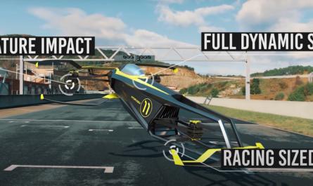 Представлен первый летающий автомобиль для «Формулы-1» [ВИДЕО]