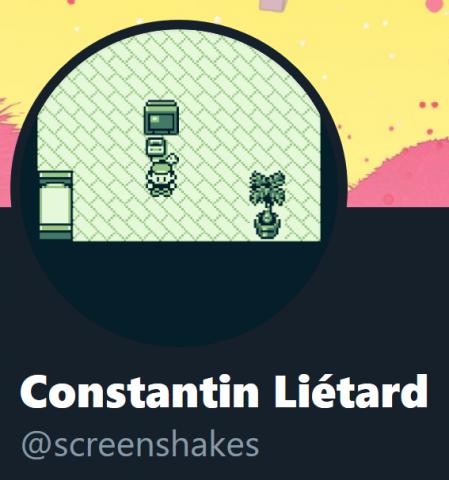 Программист запустил оригинальную Pokemon на аватаре в Twitter