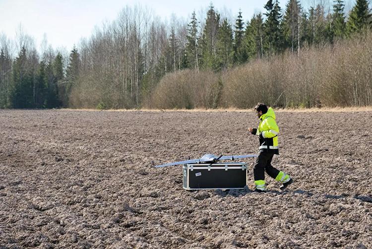 Шведский стартап Skyqraft получил$2,2 млн на создание беспилотников для коммунальных служб