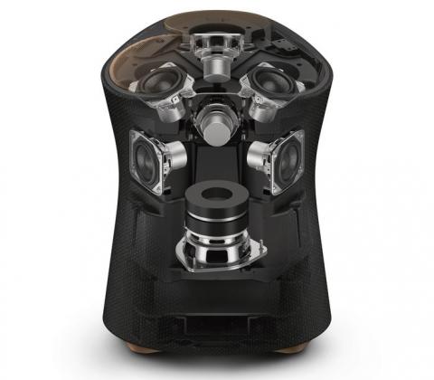 Sony представила беспроводные колонки с 3D-звуком в оригинальном дизайне