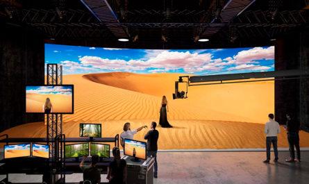 Sony представила дисплеи, которые заменят зелёные экраны при съёмках фильмов