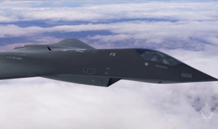 США разрабатывает истребитель шестого поколения с ИИ в качестве второго пилота