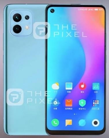 Упрощённый вариант флагманского Xiaomi Mi11 показали на первых изображениях