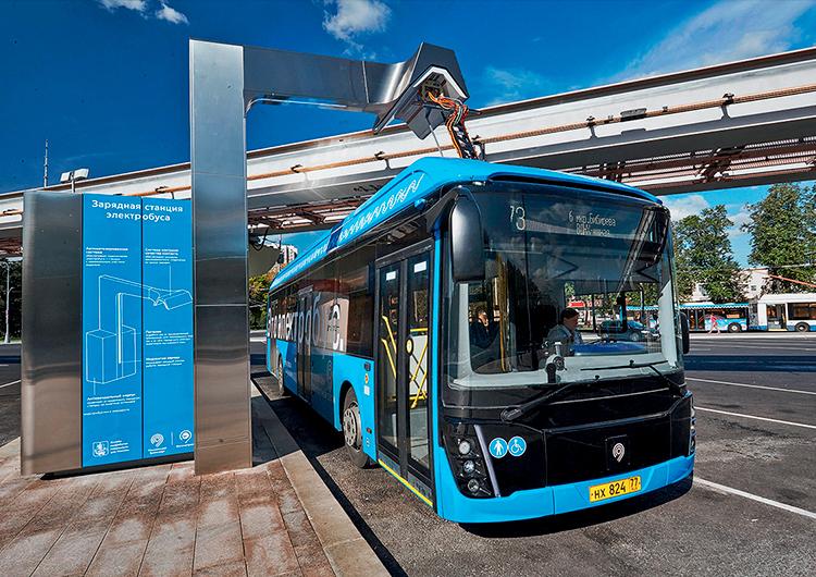 В России создана платформа для производства и обслуживания электробусов нового поколения