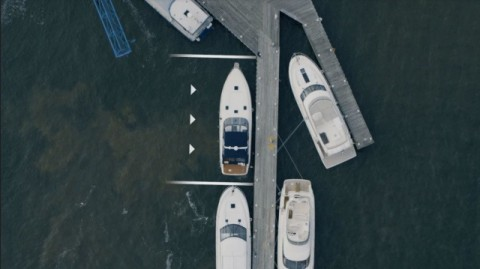 Volvo создала технологию беспилотной «парковки» лодок