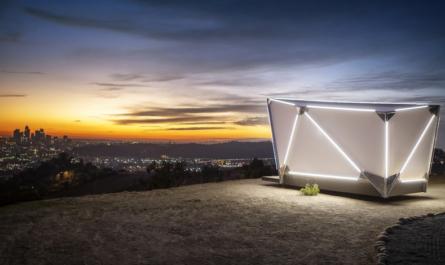Выходцы из SpaceX и Tesla создали высокотехнологичную палатку за $17 500