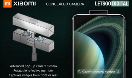 Xiaomi запатентовала выдвижную «зеркальную» камеру для смартфонов