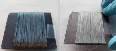 Защитное покрытие сообщит об опасности разрыва канатов и тросов