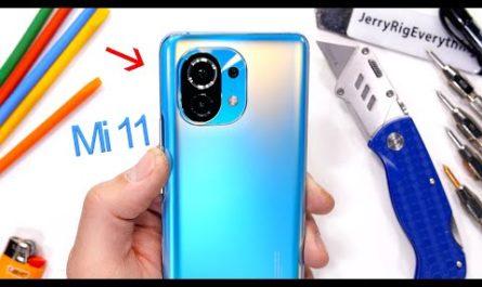 Xiaomi Mi11 выдержал испытание на прочность [ВИДЕО]