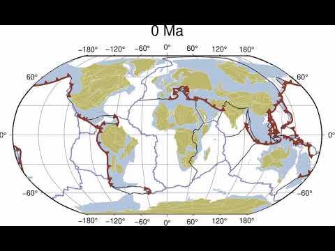 Учёные показали движения континентов за 1 миллиард лет [ВИДЕО]