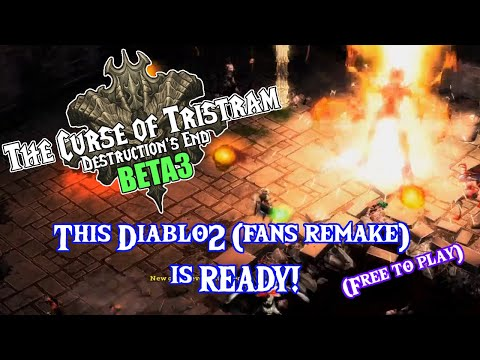 Вышел фанатский ремейк Diablo II на движке StarCraft II