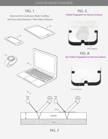 Apple придумала способ защитить гаджеты от отпечатков пальцев
