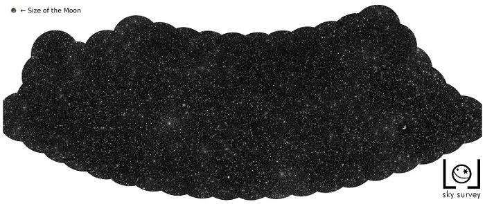Астрономы создали карту, показывающую тысячи чёрных дыр