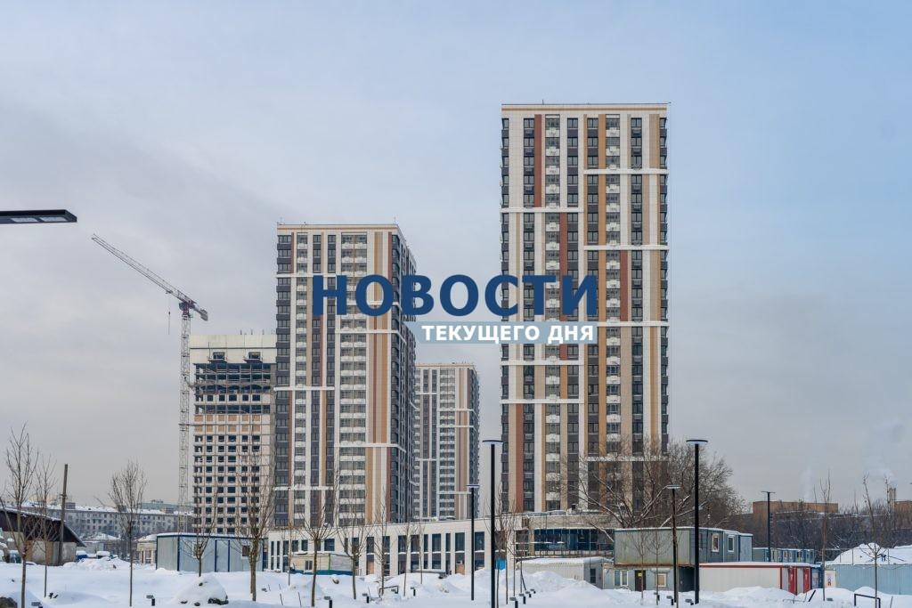 Завершено строительство двух башен ЖК LIFE-Варшавская